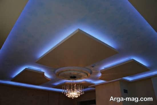 مدل نور پردازی مخفی در سقف