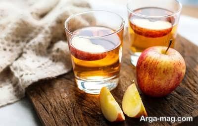 پایین آوردن فشار خون بالا با سرکه سیب