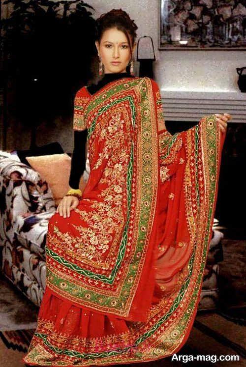 مدل زیبا و شیک لباس هندی