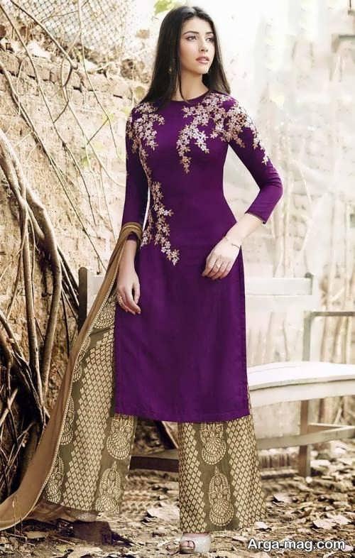 مدل لباس هندی زیبا و جذاب پنجابی