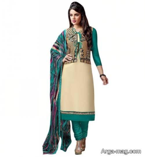 مدل لباس بلند پنجابی هندی