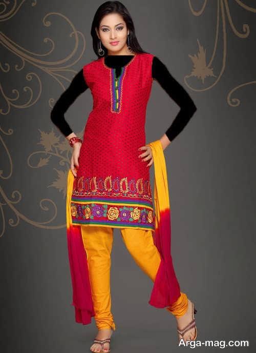 مدل لباس پنجابی هندی کوتاه و بلند