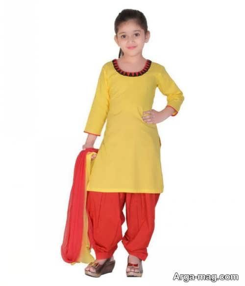 مدل لباس هندی بچه گانه جدید