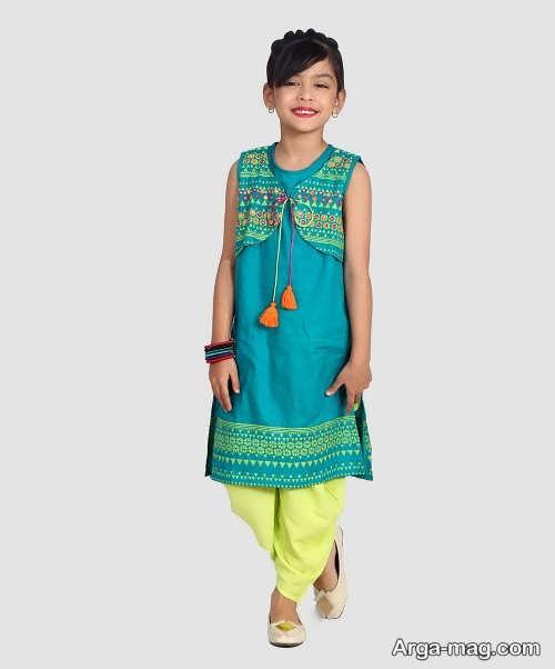مدل لباس پنجابی هندی زیبا