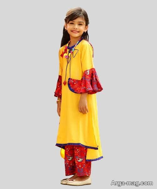 مدل های ایده ال لباس هندی بچه گانه