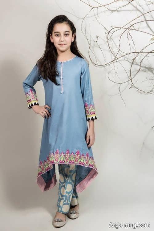 جدیدترین لباس هندی دخترانه
