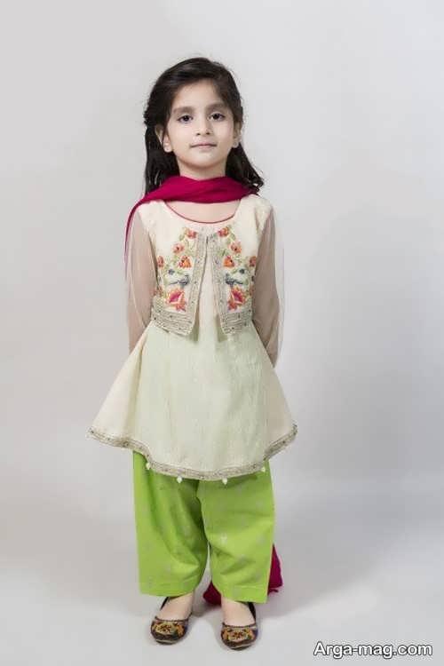 قشنگ ترین لباس هندی دخترانه