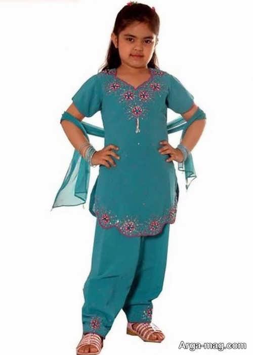 جذاب ترین لباس هندی دخترانه