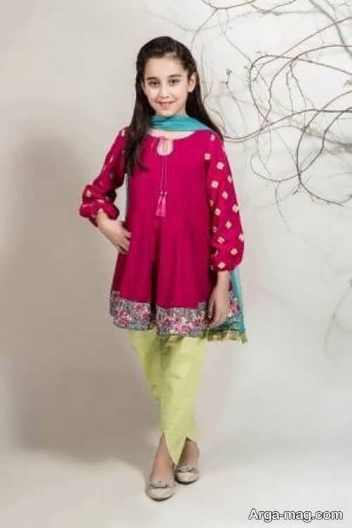 خاص ترین لباس هندی دخترانه