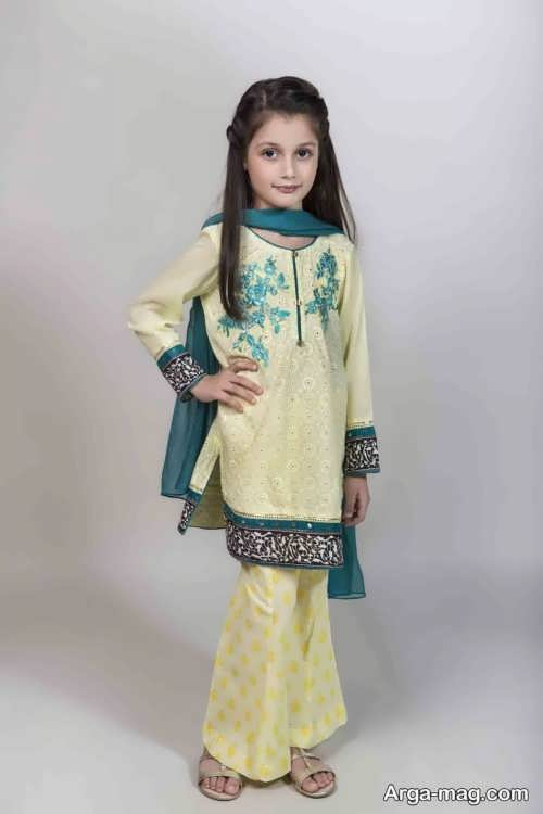 مدل لباس هندی بچه گانه دیدنی