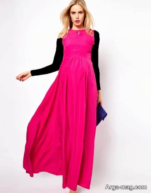 مدل لباس بارداری ایرانی بلند