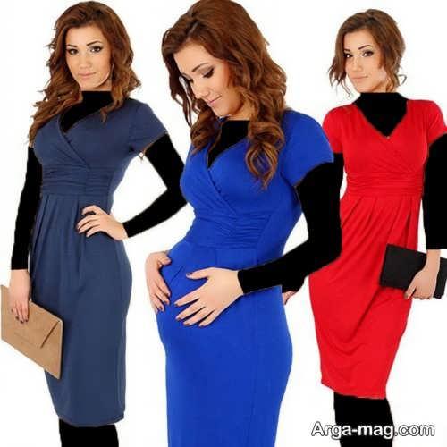 مدل لباس بارداری شیک بارداری