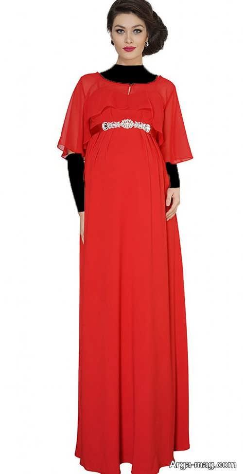 مدل لباس بارداری بلند و شیک