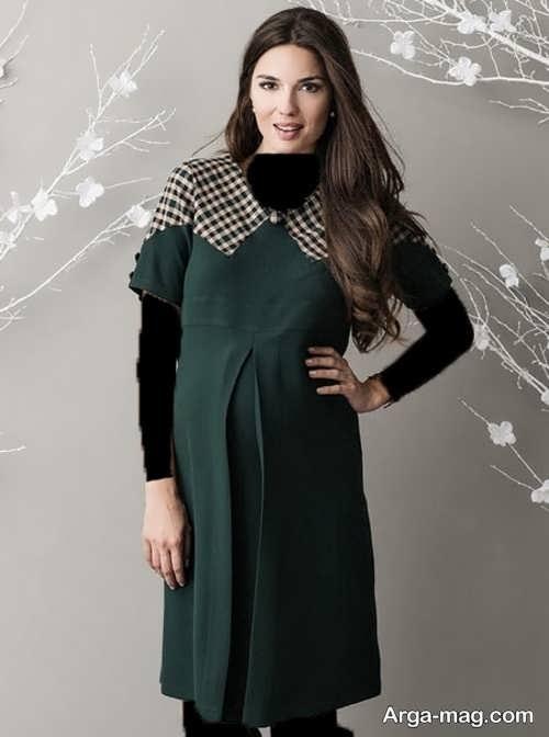 مدل لباس شیک بارداری