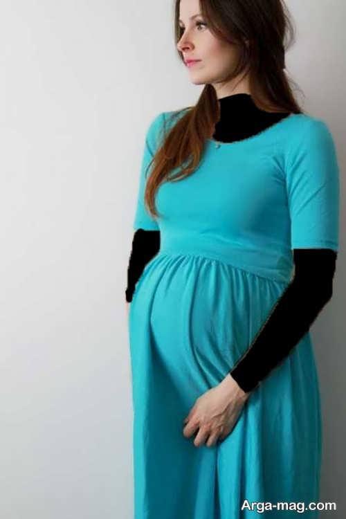 مدل لباس بارداری ایرانی ساده