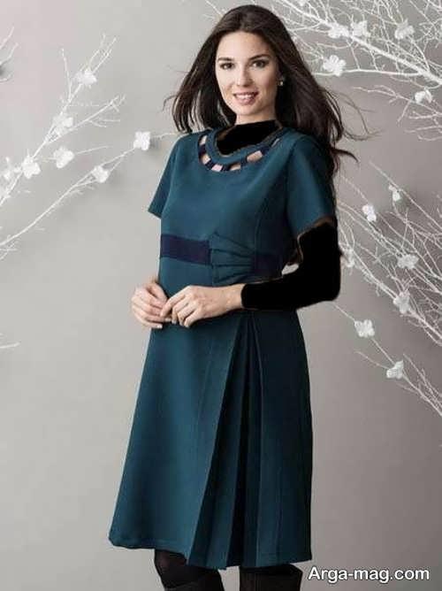 لباس بارداری ایرانی کوتاه