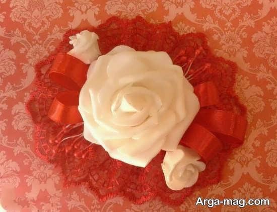 روش ساخت گل با تور