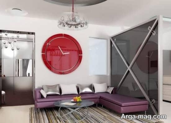 مدلی از تزیینات اتاق نشیمن