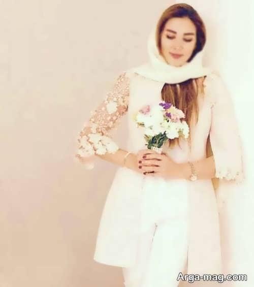 مدل مانتو عروس کوتاه و جدید