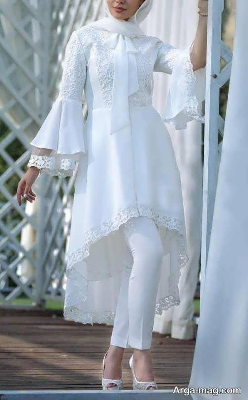 مدل مانتو عروس زیبا و خاص