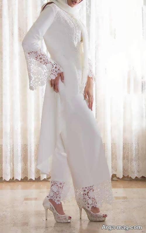 مدل مانتو بلند گیپور