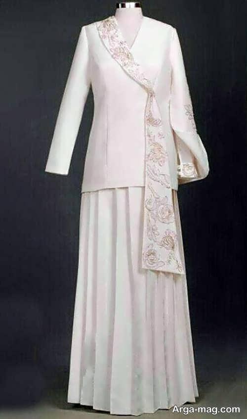 مدل مانتوی بلند و جدید عروس