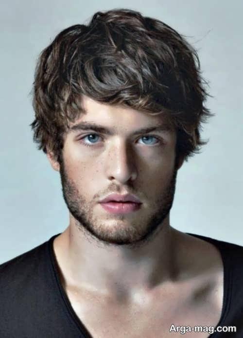 مدل موی شیک مردانه برای صورت کشیده