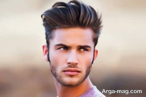 مدل مو جدید مردانه برای صورت کشیده