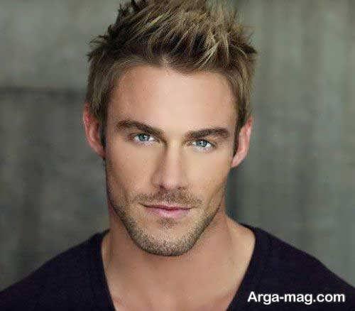 مدل موی مردانه کوتاه برای صورت کشیده