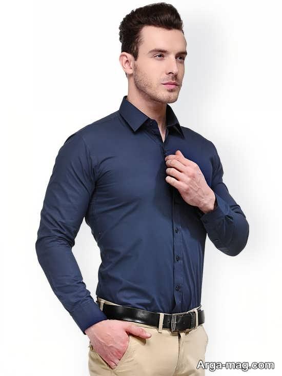 مدل پیراهن تک رنگ
