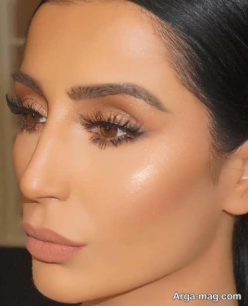 مدل آرایش چشم شیک و خاص