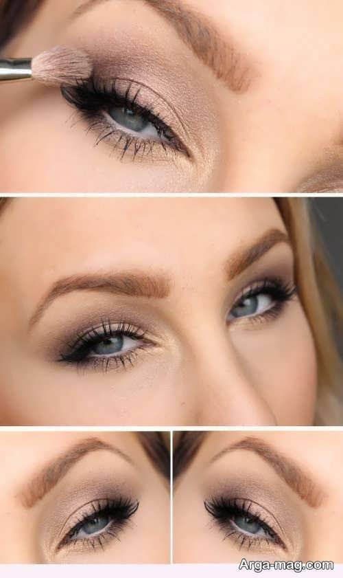 مدل آرایش چشم خاص