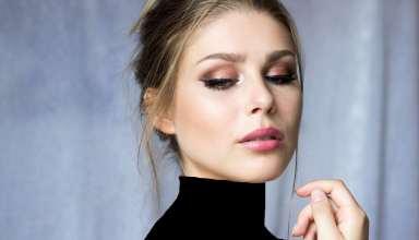 مدل آرایش چشم ملایم زنانه و دخترانه