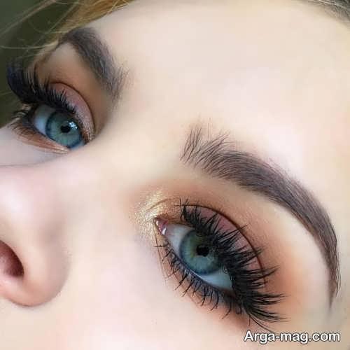 مدل آرایش چشم دخترانه شیک و جدید
