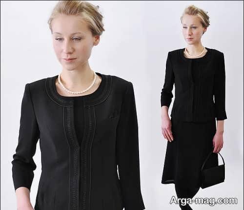 مدل لباس زنانه مشکی برای عزاداری