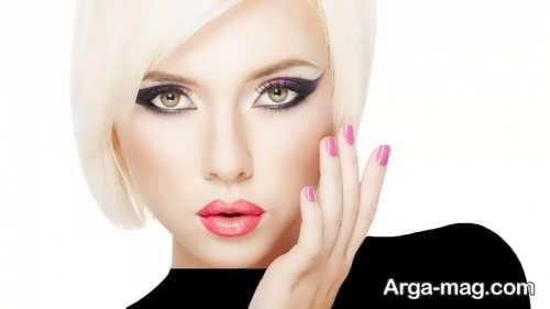 مدل آرایش صورت زیبا و جذاب زنانه