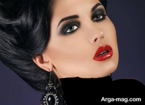 مدل آرایش صورت زنانه شیک و جذاب