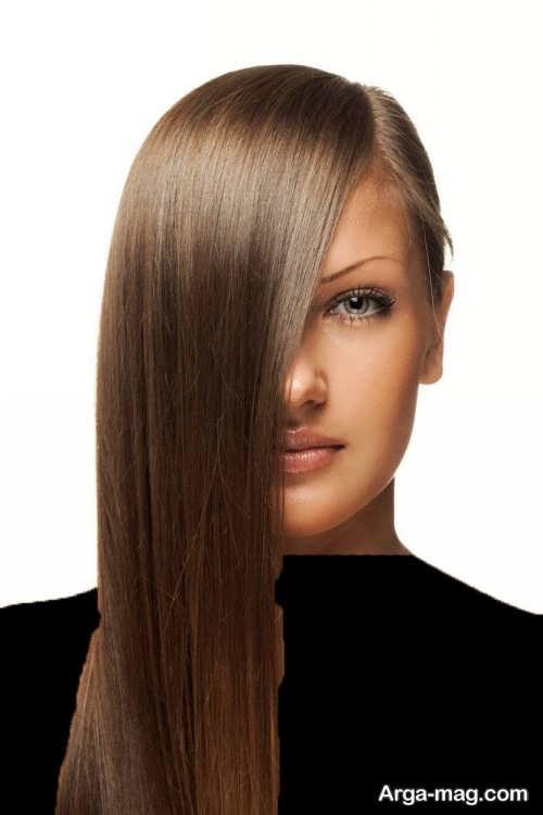 رنگ موی قهوه ای زیتونی روشن