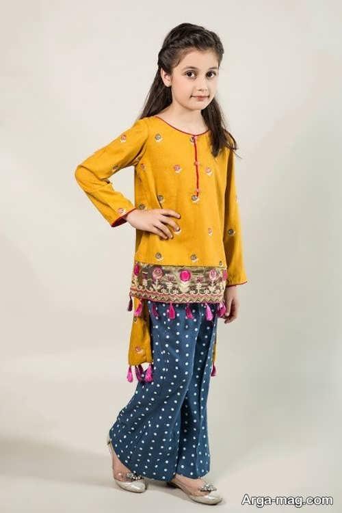 مدل پیراهن پاکستانی دخترانه