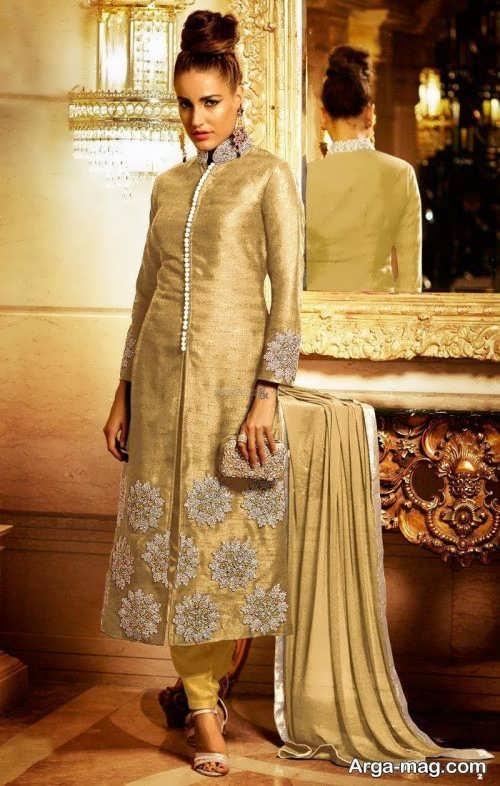 مدل لباس طرح دار پاکستانی