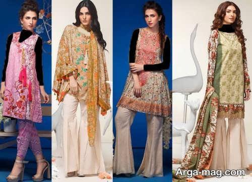 مدل های لباس پاکستانی