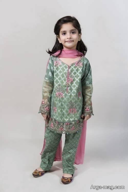 مدل پیراهن پاکستانی بچگانه