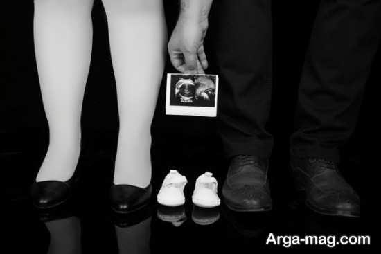 ژست عکس بارداری در آتلیه
