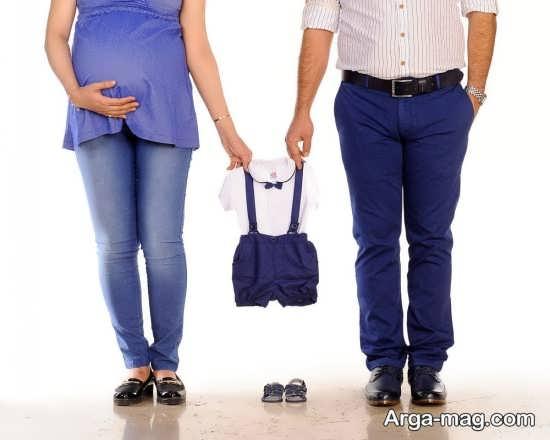 ژست بارداری در آتلیه