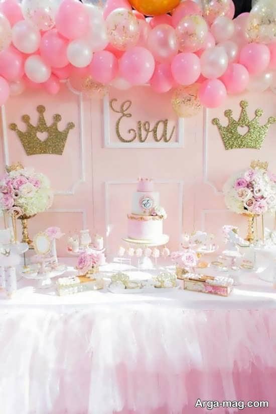 تزیینات تولد پرنسسی جذاب