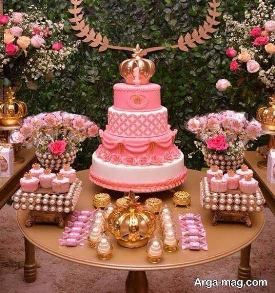 تزیینات تولد پرنسسی شیک