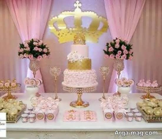 تزیینات تولد پرنسسی زیبا