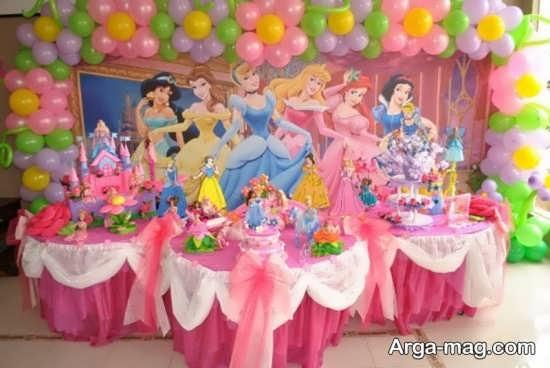 ایده تزیینات تولد پرنسسی