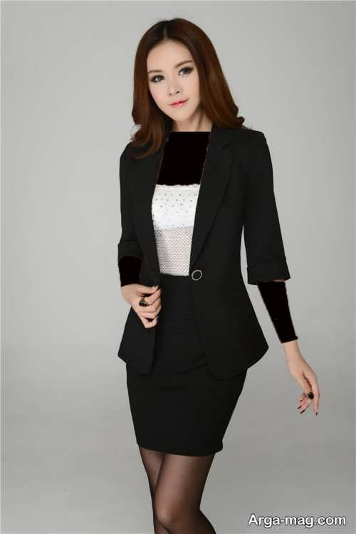 مدل کت و دامن ساده و زیبا