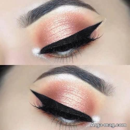 مدل آرایش زیبا و شیک چشم